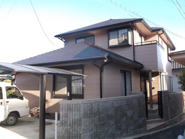 岡山県井原市Y様邸 外壁・屋根塗装工事サムネイル